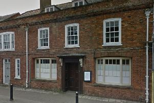 The former Lloyds Bank building in Steyning High Street