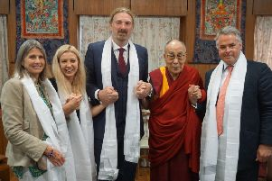 Tim Loughton had a meeting with the Dalai Lama during his time in Tibet