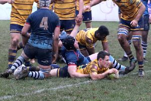Matt Walsh. Rams 41 Worthing Raiders 12. Picture by Colin Coulson