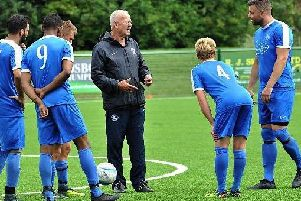 Shoreham boss Sammy Donnelly is hoping to boost his frontline ahead of Saturday's trip to third-placed Chichester City. Picture by Stephen Goodger.