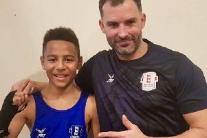 Jaidan Wyatt with Stuart Smith