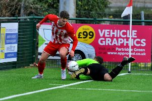 Steyning Town v Wick. Conor Bull. Pic Steve Robards SR1900912 SUS-190115-071142001