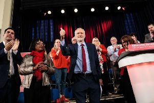 Jeremy Corbyn was in Hastings on Thursday to give a speech about Brexit and the Labour Party's plans for the future. Picture: Ben Stansall/AFP/Getty Images