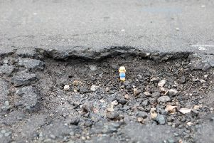 Pothole concerns revealed