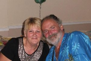 Steve Blaikie from Worthing and Margaret Greene from East Preston have got engaged