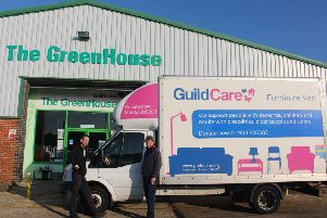 Guild Care offers a free furniture collection service for larger donations