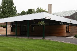 Worthing Crematorium. A natural burial ground is proposed on land next to it