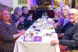 Rajpooth restaurant in Worthing hosted a charity fundraiser for Chestnut Tree House