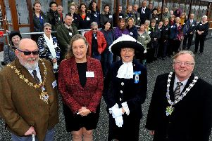 Official opening of Wadar's new cattery facility at Ferring by the High Sheriff. Pic Steve Robards SR1906174 SUS-190603-194735001