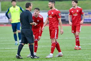 Alex Parsons four-match suspension begins when Worthing welcome rivals Whitehawk on Saturday. Picture: Stephen Goodger