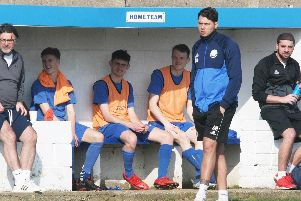 The Shoreham bench watches on