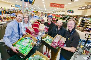 The Rustington Aldi team has got behind the new initiative