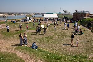 Shoreham Fort Easter fun day