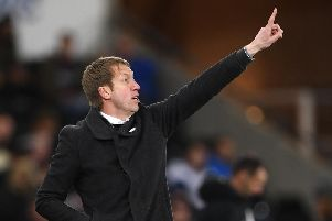 New Brighton and Hove Albion boss Graham Potter. Picture courtesy of Getty Images.