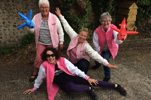 Steyning wing walk ladies