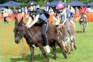 Fun for all the family at the Adur East Lions donkey derby and classic vehicle rally