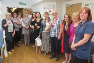 Nursing staff were celebrated at Valerie Manor