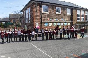 Swiss Gardens Primary School is having a giant walk to school to raise �3,000 for IT equipment