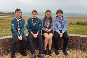 Lana Wilka, George Harvey, Oskar Zak and Robert Fellingham are heading to Poland for the European Jamboree 2020