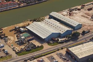 The New Wharf site in Brighton Road, Shoreham