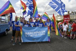 Worthing Pride took place on Saturday. Pictures: Liz Pearce.