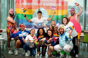 American Express colleagues are preparing to celebrate love dressed as LGBTQ+ icons from the '80s
