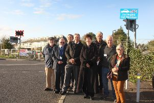 Councillors have united to call for changes to the Roundstone level crossing
