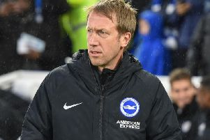 Brighton & Hove Albion head coach Graham Potter. Picture by PW Sporting Photography