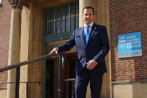 Nathan Elvery left West Sussex County Council in November after more than three years as its chief executive