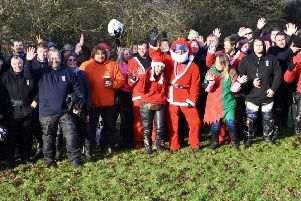 South Coast Bikers ride out to deliver presents to Chestnut Tree House children's hospice ' SG141219