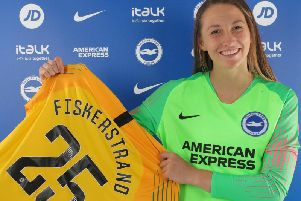 Norway international goalkeeper Cecilie Fiskerstrand has signed for Brighton