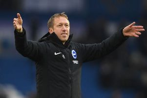 Graham Potter will lead Brighton out against Sheffield Wednesday in the FA Cup