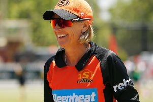 Lisa Keightley pictured as coach of the Scorchers (Photo by Daniel Pockett/Getty Images)