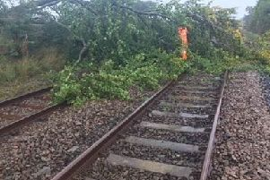 Passengers are being advised not to travel on trains over the weekend