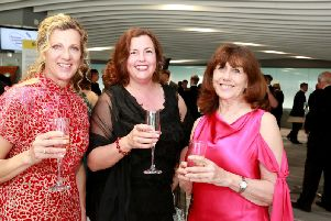 Awards Patron Sally Gunnel OBE, Paula Seager and Hilary Knight