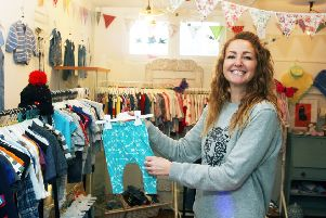Owner Lotty Ballantine at her new shop Lolly & Lelly
