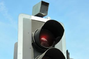 Red light cameras in Sussex.