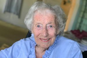 Dame Vera Lynn at 103. Pic by Susan Fleet