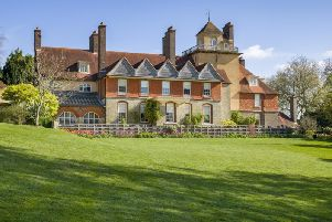 The South Front and garden at Standen: National Trust Images Andrew Butler