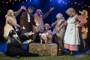 The cast of Babe, The Sheep-Pig are coming to the Embassy Theatre, in Skegness. EMN-171005-123234001
