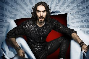 Comedian Russell Brand is coming to the Embassy Theatre, in Skegness. EMN-170531-151047001
