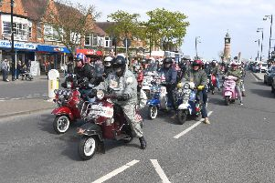 Skegness Scooter Rally is taking place at various locations in the town over the Bank Holiday weekend. ANL-180105-071719001