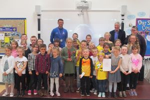 Beacon Primary Academy pupils took part in a talent extravaganza for Children In Need. ANL-181123-171920001