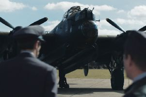 Just Jane at the Lincolnshire Aviation Heritage Centre is featured prominently in the film.