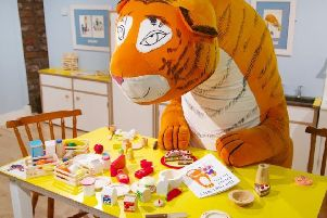 The National Trust exhibition based on the popular children's book 'The Tiger Who Came to Tea' is coming to Gunby Hall near Spilsby.