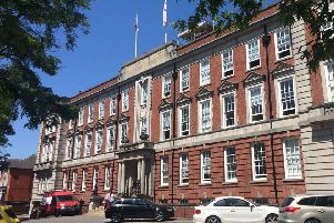Lincolnshire County Council headquarters.
