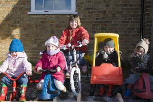 Skendleby Playgroup 10 years ago.
