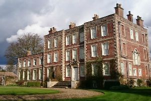 Gunby Hall and Gardens.