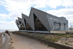 The North Sea Observatory coastal attraction at Chapel Point, host to an exhibition and sale from Alford Craft Market from Saturday this week.