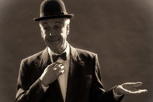 Jeffrey Holland stars in And This is My Friend Mr Laurel, on show this week.